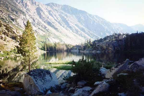 Barney and Peeler Lakes