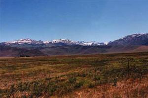 Sawtooth Mountain Range