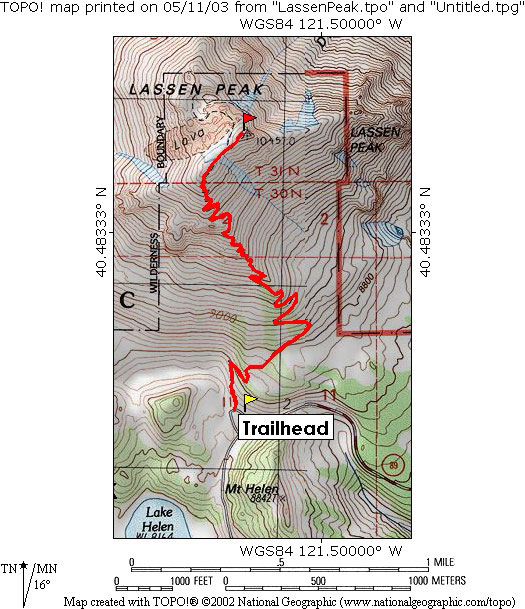 lassen-peak-map