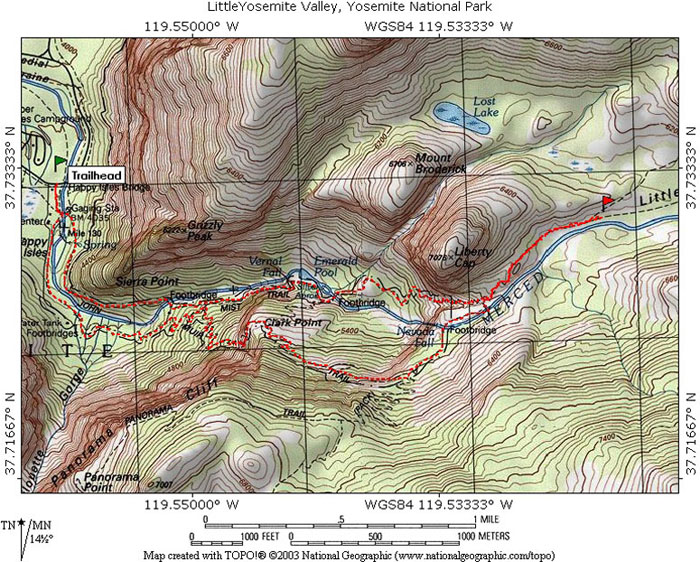 little-yosemite-valley-map