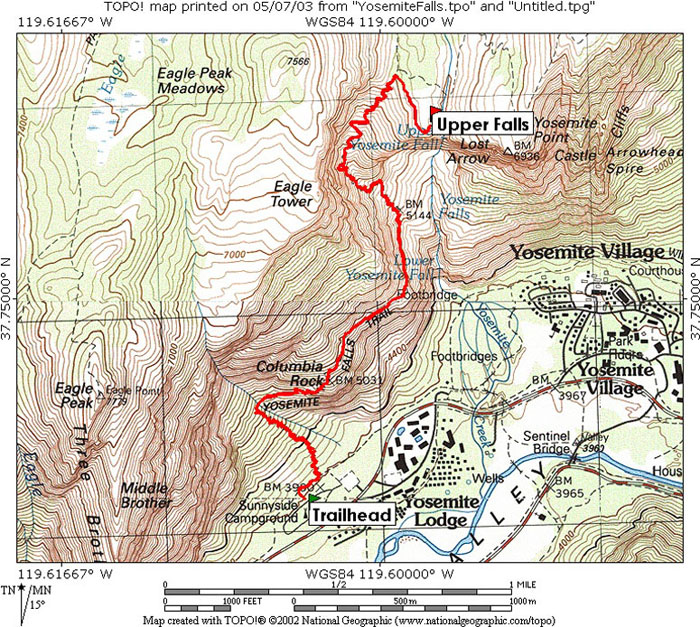 yosemite-falls-map